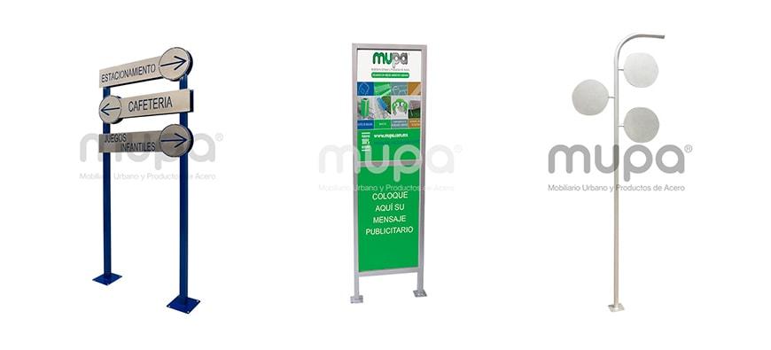 Señaléticas de alta calidad - Mobiliario Urbano, México | MUPA ®