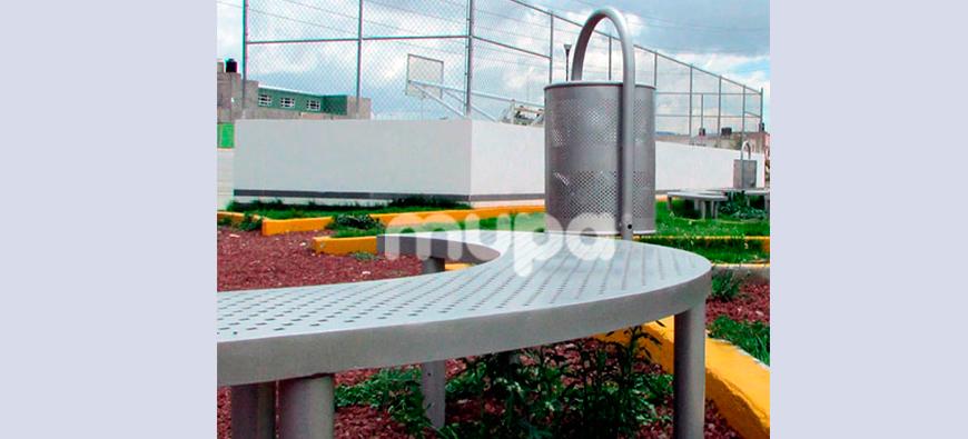 Mobiliario Urbano indispensable para ciudades, México   MUPA ®