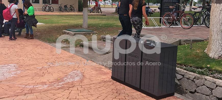 Mobiliario Urbano en el ITESM Pachuca, México | MUPA ®