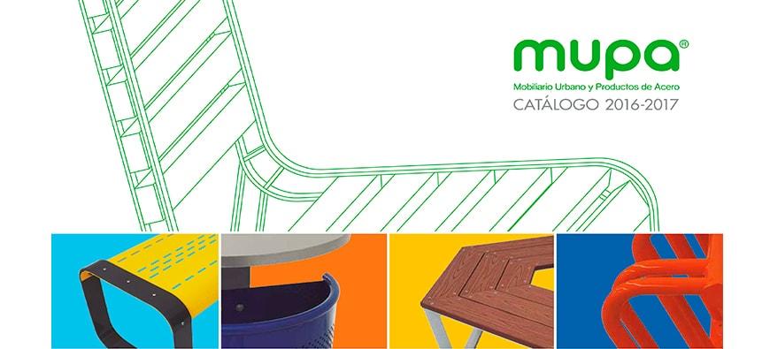 Catálogo MUPA ® ¡conócelo! - Mobiliario Urbano en México -1