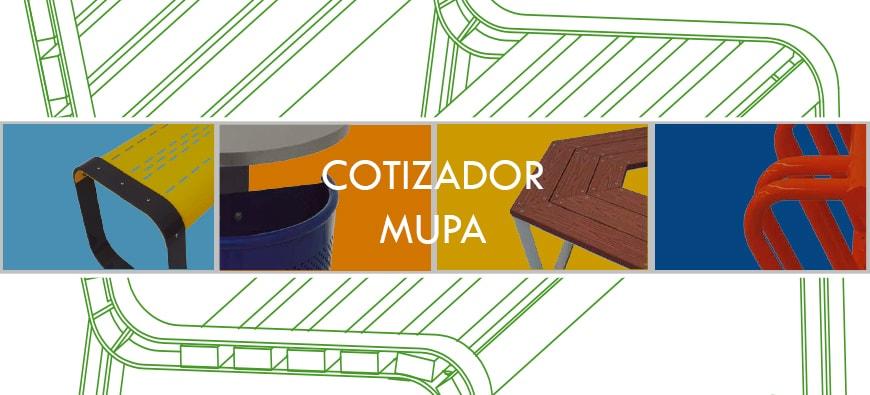 Estrenamos Cotizador MUPA ® - Mobiliario Urbano en México