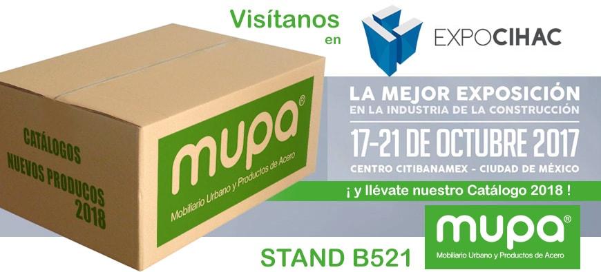 Catálogo MUPA ® 2017 - 2018 - Mobiliario Urbano en México