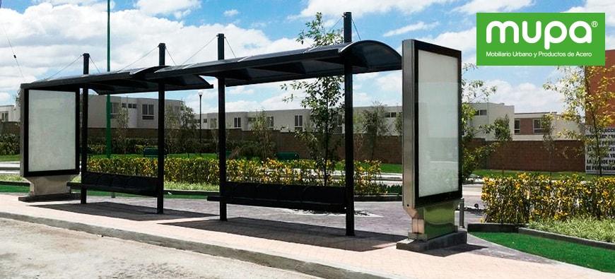 Instalamos Mobiliario Urbano en Zumpango, México | MUPA ®