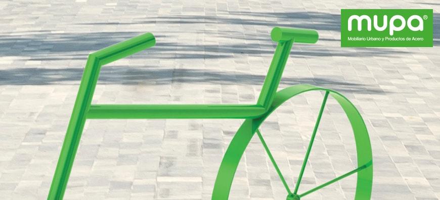 Aparcabicicletas para ciudades sustentables - Mobiliario Urbano | MUPA ®