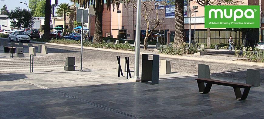 Llevamos Mobiliario Urbano a Puebla, México | MUPA®