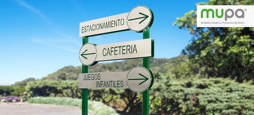 Señaléticas para tu proyecto - Mobiliario Urbano, México | MUPA®
