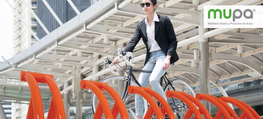 Aparcabicicletas, transporte urbano - Mobiliario Urbano, México | MUPA ®