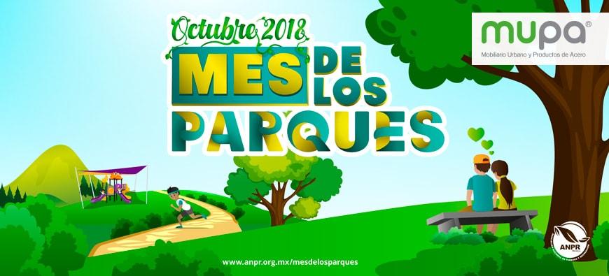MUPA ®: Octubre, Mes de los Parques y la Recreación | Mobiliario Urbano