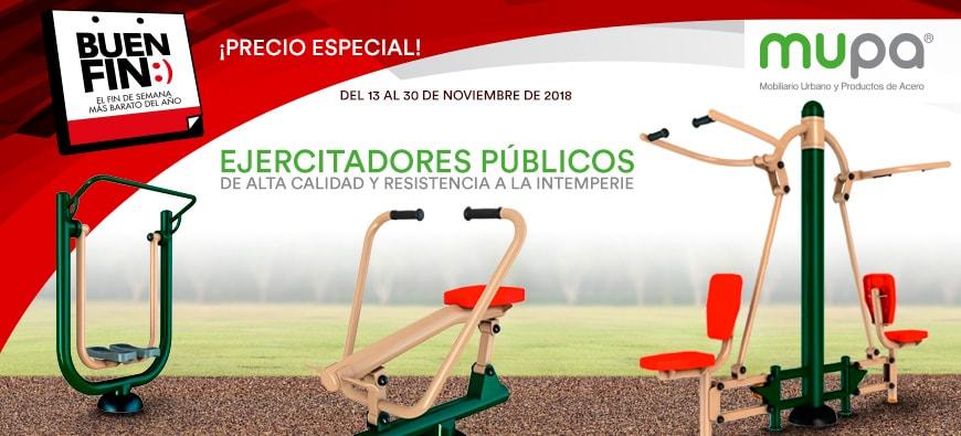 MUPA ® presente en el Buen Fin - Mobiliario Urbano, México