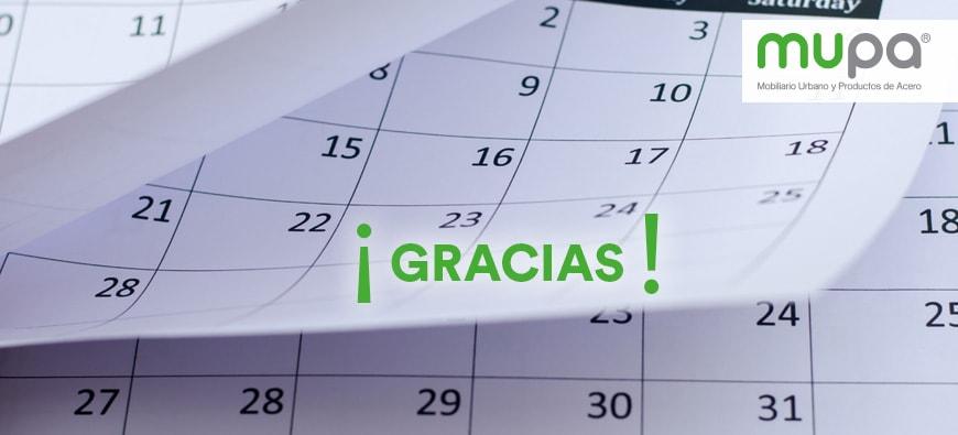 MUPA ® agradece un año más de trabajo - Mobiliario Urbano en México