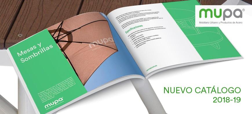 Catálogo MUPA ® 2018 - 19 llega a casa - Mobiliario Urbano en México