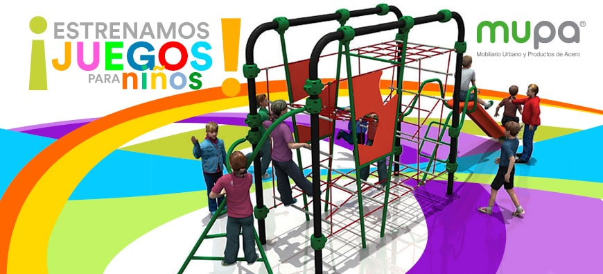 Estrenamos Juegos para Niños Extreme- Mobiliario Urbano | MUPA ®