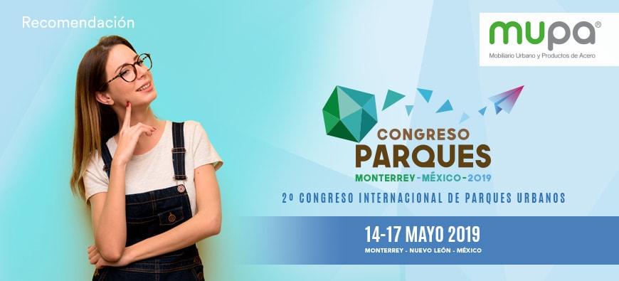 Por qué ir al 2do Congreso de Parques Urbanos - Mobiliario Urbano | MUPA blog