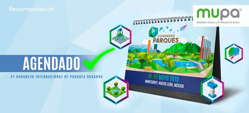 Blog MUPA ® novedades en Congreso de Parques Urbanos - Mobiliario Urbano