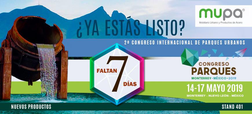 blog MUPA ® presentará novedades en Congreso Parques - Mobiliario Urbano