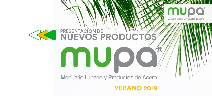 Blog - Catálogo MUPA ® continúa creciendo - Mobiliario Urbano | MUPA ®
