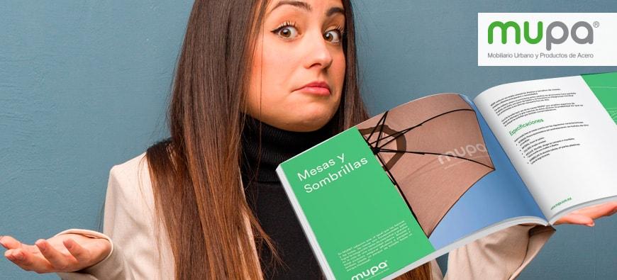 Blog - Catálogo MUPA ®, ¿cómo solicitarlo? - Mobiliario Urbano | MUPA