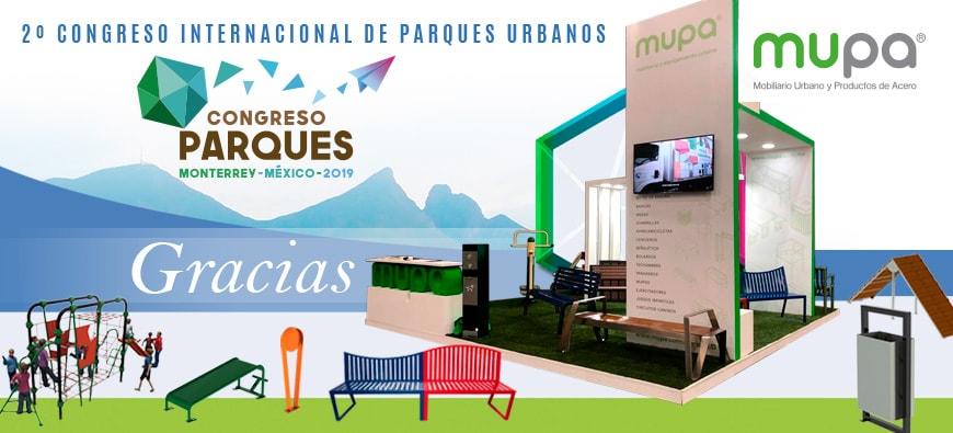 blog - MUPA ® cierra 2do. Congreso de Parques con éxito - Mobiliario Urbano