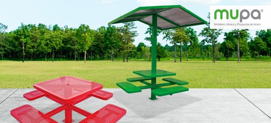 Mesa para Parques   Mupa