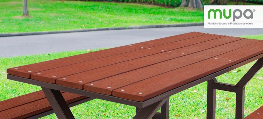 Fabricamos mobiliario con madera ecológica