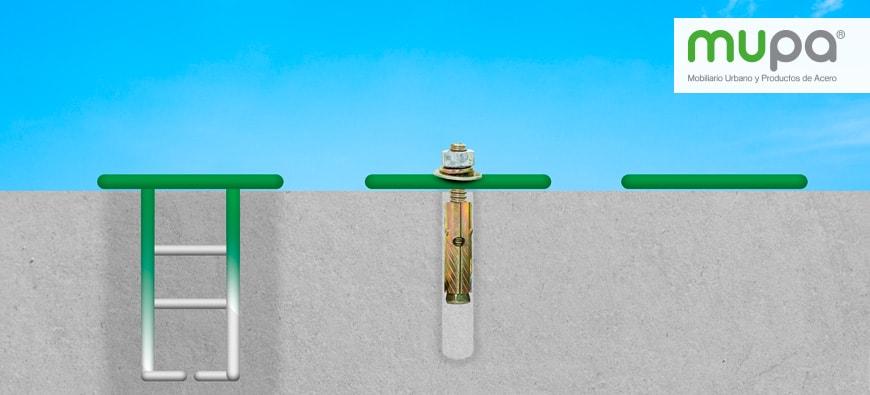 3 formas fáciles de instalar Mobiliario Urbano MUPA®
