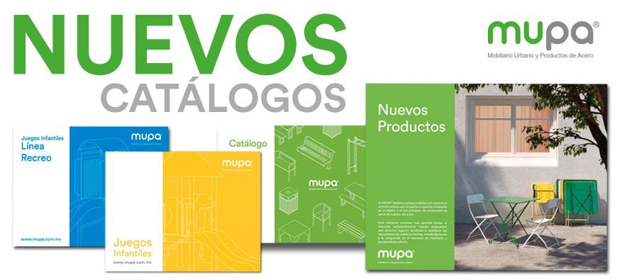 Nuevos Catálogos de Productos MUPA®