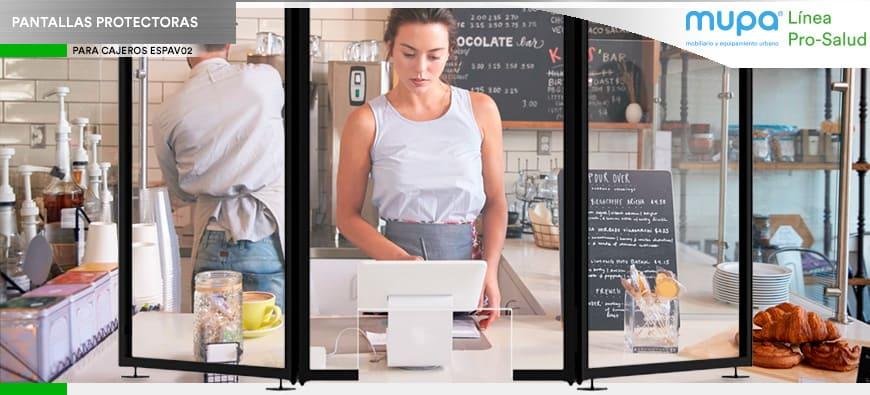 ¿Para qué sirven las Pantallas Protectoras de acrílico en mostradores?