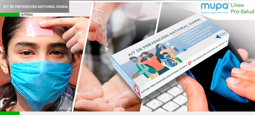 Nuevo Kit de Prevención Diaria Personal Anti-Covid