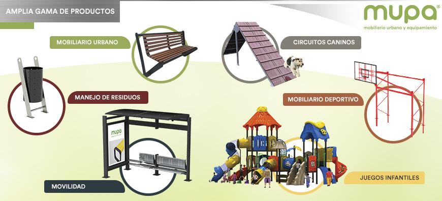 El Mejor Mobiliario Urbano y Equipamiento para tu Proyecto