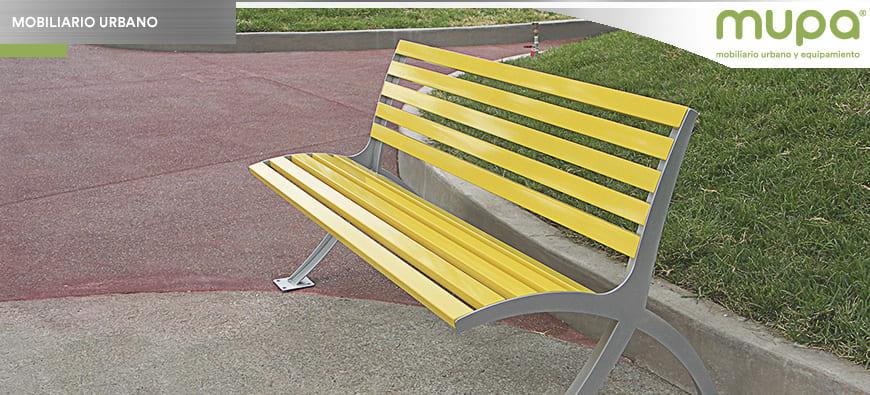 Mobiliario Urbano y Equipamiento MUPA® para Proyectos Urbanos