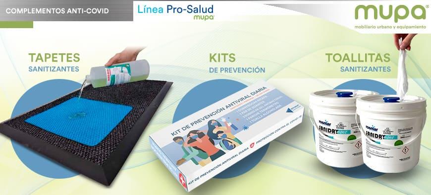 Complementos AntiCovid para un regreso seguro actividades, ProSalud MUPA®