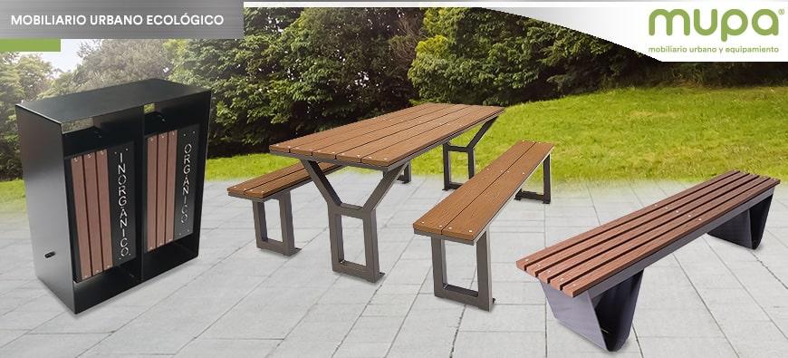 Mobiliario Urbano Ecológico MUPA®